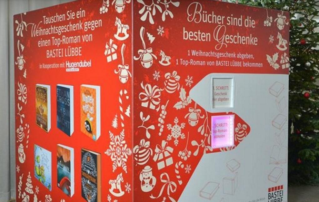Geschenkeumtauschautomat 1